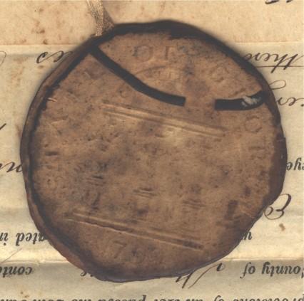 Georgia State Seal 1850